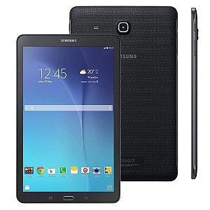 """Tablet Samsung Galaxy Tab E 9.6 3G SM-T561 com Tela 9.6"""", 8GB, Câmera 5MP, GPS, Android 4.4, Processador Quad Core 1.3 Ghz - Preto  *7005*"""