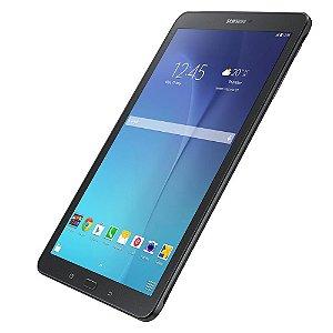 """Promoção Tablet Samsung Galaxy Tab E 9.6 3G SM-T561 com Tela 9.6"""", 8GB, Câmera 5MP, GPS, Android 4.4, Processador Quad Core 1.3 Ghz - Preto  *7005*"""