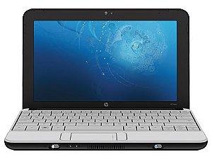 """Netbook HP Mini 110-1109nr Atom 1.6ghz HD 160gb 2gb Tela 10"""" Webcam Wifi, 3 USB, Slot SD, Win 7 Aceitamos notebooks usados na troca *6730*"""