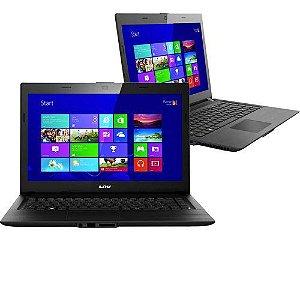 Notebook Lenovo LNV L1125 Celeron 1.1Ghz HD 250gb 2Gb 2USB, Wifi, Win 8, Aceitamos notebooks usados na troca * N5010*