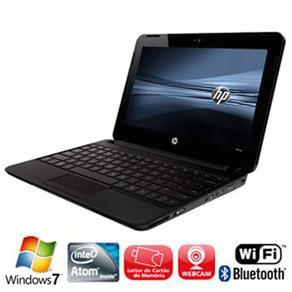 """Netbook HP Mini 110-3120br Intel Atom 1.66ghz HD 120GB 2GB tela 10"""" Win 7"""