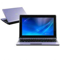 Netbook Roxo Philco 10B Intel Atom 1.8Ghz HD 80GB 2GB completo 3 USB, Wifi, Webcam, VGA, Slot SD, Windows 7.  *N5096*