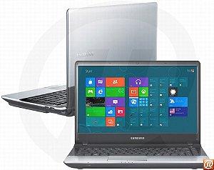 "Notebook Samsung NP300E4C-AD2BR Intel Core i3 2.2ghz HD 320gb 4GB Tela 14"" HDMI, VGA, USB, Webcam, Win 7 *7167*"
