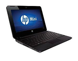 "Netbook HP Mini 110-1125nr Intel Atom  1.60ghz HD 160gb 2GB Tela 10"" Win 7 *7160*"