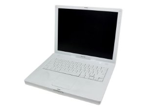 "Notebook Apple A1134 iBook G4 PowerPC G4 1.42Ghz 1GB HD 60GB MAC OS X 10.4.11 Tela 14.1"" *7097*"