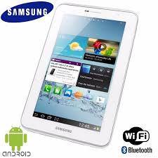 """Tablet Samsung Galaxy Tab 2 7.0 P3110 com Tela 7,0"""", 8GB, Processador Dual Core 1.0 GHz, Câmera 3.2MP, Wi-Fi, GPS, Bluetooth e Android 4.0 *7029*"""