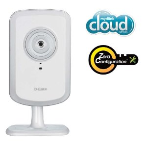 Câmera IP D-Link DCS-930L com Microfone, Conexão Wi-Fi, Fácil Instalação com o D-Link Zero Configura *7212*
