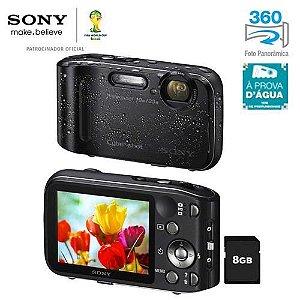 Câmera Digital Sony Cyber-shot Dsc-tf1 Tela 2,7 16.1mp Top Funciona abaixo da água. *7222*