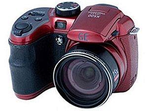 Câmera Semi Profissional Digital Ge X500 16mp Zoom Óptico 15 Vermelha *7223*