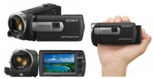 Filmadora Sony Handycam Dcr-pj5 Tela 2.7 Projetor Integrado / Preta *7124*