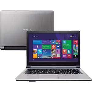 "Notebook Positivo Premium TV 3D XS3210 Intel Celeron 1.58ghz 4GB HD500gb Tela 14"" Win 8, DVD, HDMI, USB 3.0 *7245*"