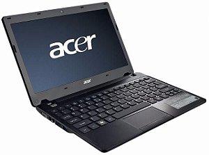 "Notebook Acer Aspire One 722 Dual Core 1.0Ghz HD 500gb 2GB Webcam Tela 11.6"" Entrada HDMI, VGA, USB, *7254*"