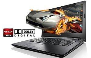 "Notebook Gamer Lenovo G40-80-80JE- Intel Core i5, 4GB HD 500 LED 14"" Windows 7 HDMI Webcam Bluetooth"