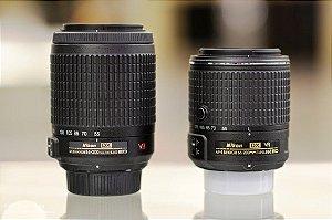 Lente para Câmeras Nikon AF-S DX VR Zoom-Nikkor 55-200mm f/4-5.6G IF-ED *7296*