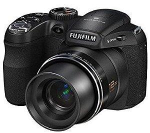 Câmera Fujifilm Finepix S1800 com Super Zoom 18x Wide *7301*