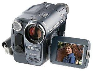 Câmera Filmadora da Sony Handycam Vídeo Hi8 * 7233-2*