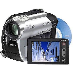 Câmera Filmadora Sony DCR-DVD108 Handycam Carl Zeiss Lens 40x *7303*