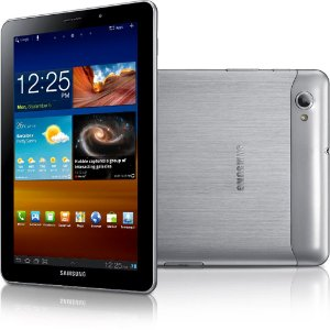 "Tablet Samsung Galaxy Tab GT-P6800 Android 3.2  Wifi 3G Tela 7.7"" 16GB Slot SD *7246*"