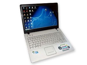 "Notebook Positivo Premium D2175 Celeron 2GB HD 80GB Tela 14"" DVD, 3 USB, Webcam Win 7 *7346*"