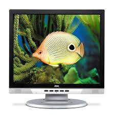 """Monitor AOC 912Vwa de 19"""" polegadas com caixas de som embutida do monitor *7444*"""