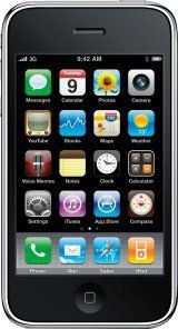 Iphone 3 A1303 IOS, Wifi, Bluetooth, Preto *7472*