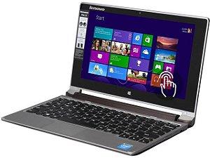 """Notebook 2 em 1 Lenovo IdeaPad Flex 10 Tela Touch 500gb 2gb Celeron N2805 1.46ghz, Tela 10"""" Windows 8 *7514*"""