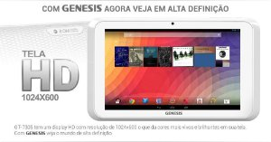 Tablet Genesis Gt-7305 7 Android 4.2 Wifi Hdmi 8gb Rom *7240 Capinha de brinde