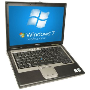 "Notebook com Serial Db9 Dell Latitude D630 Intel Core 2 Duo 1.80ghz 4GB HD 500GB, USB, PCMCIA, SmartCard, FireWire, Tela 14"" Windows 7 *8001*"