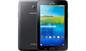 Tablet Samsung SM-T116BU, 3G, Wifi, Bluetooth, Android 4.4, Câmera frontal e traseira, RAM 1GB, Preto *7807*