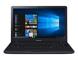Samsung Essentials E34 NP300E5L-KF1BR Preto, Tela 15.6 LED Full HD, Intel Core i3, 4Gb, HD 1Tb, Windows 10 *7830*