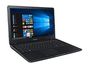 Notebook Samsung E34 Preto Intel Core i3, Tela 15.6 LED Full HD, 4Gb, HD 1Tb, Windows 10 *7830*