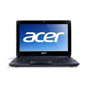 """Notebook Acer Aspire One 722 Dual Core 1.0Ghz HD 500gb 2GB Webcam Tela 11.6"""" Entrada HDMI, VGA, USB, Aceitamos notebooks usados *7254*"""
