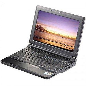 """Netbook Itautec Infoway w7010 Atom N270 1.60GHz 2gb 80GB, 2 USB, Webcam, Wifi, Slot para Cartão SD Tela 10"""" Windows 7 Aceitamos notebook usado *7477*"""
