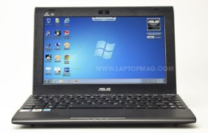 "Netbook Pequeno Asus Eee PC Flare series Intel Atom 1.6ghz HD 160GB HDMI, Tela 10"" Webcam Win 7 Aceitamos notebook usado *7863*"