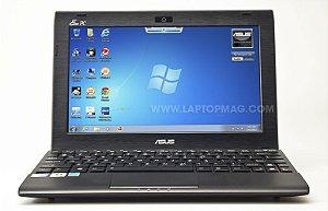 """Netbook Pequeno Asus Eee PC Flare series Intel Atom 1.6ghz HD 160GB HDMI, Tela 10"""" Webcam Win 7 Aceitamos notebook usado *7863*"""