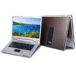 "Notebook Itautec W7635 Intel Dual Core 1.86ghz HD 40gb 2GB, 4 USB, DVD, Tela 15.6"" Windows 7 Aceitamos notebooks usados  *7231*"