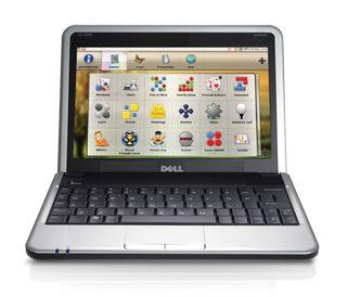 "Netbook Dell Mini Inspiron 910 Intel Atom n270, 1.60GHZ, 1GB ram, HD 8GB, Wifi,  Slot para Cartão SD, 3 USB, Tela 9""  *7462*"