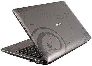 "Notebook Positivo Aureum Intel 1.30ghz HD 80GB 2GB 3 USB, VGA, Tela 13.3"" Win 7. Aceitamos notebooks usados na troca *7361*"