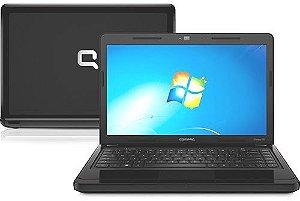 """Compaq Presario CQ43-113Br Pentium 2.13ghz 120gb 2gb Tela 14"""" 3 USB, Wifi, Webcam, DVD, Win 7. Aceitamos notebooks usados"""