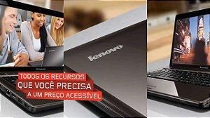 Notebook Lenovo G485 Amd C-60 1ghz 250gb 2gb Win8.1 3USB HDMI WEBCAM SDCARD WIRELESS *9025*