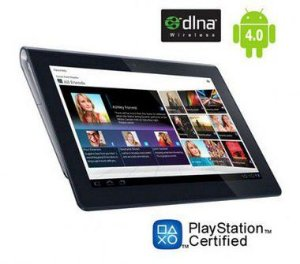 "Tablet Sony S Preto, 32GB Android 4.0 Camera 5mp Wifi tela 9.4"" Slot SD *7322*"