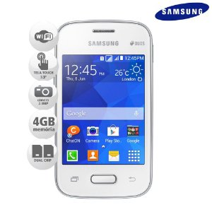 Celular Samsung Galaxy Pocket 2 Dual Chip 4Gb Wi-fi SMG110B *9032*