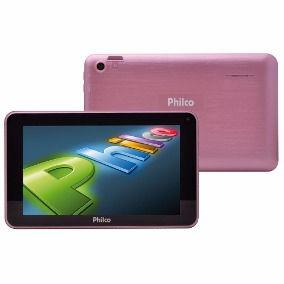 Tablet Kids Rosa Philco Ph70R 8gb  Android 5.1 7' + Brinde Capa de silicone Rosa *9036*
