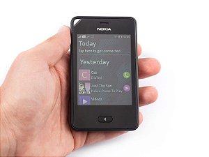 Celular Desbloqueado Nokia Asha 501 Preto Dual Chip, Câmera 3.2mp, Wi-fi, bluetooth *7394*