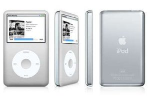 Ipod Apple Classic Cinza  A1238 80GB *7467*