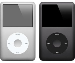 Ipod Classic Apple A1136 30GB Preto *7469*