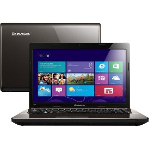 Notebook Lenovo G485 AMD C-60 1ghz, HD 160gb, 4GB, Microsoft Windows 7, Wifi, 3 USB, HDMI. Aceitamos notebooks usados *9100*