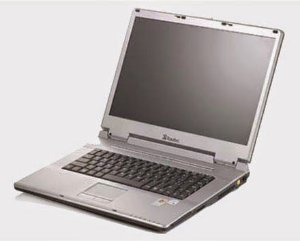 "Notebook Itautec Infoway Note N8610 Intel Centrino 1.6ghz HD 120GB 2GB, Wifi Tela 15.4"" DVD, 4 USB, VGA. Win 7. Aceitamos notebooks usados *9103*"