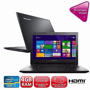 "Notebook Lenovo Ideapad G400s Core I3 2.4ghz 4gb Hd 250gb Usb 3.0 Tela 14"" LED. *640*"