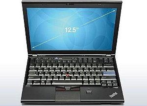 *923* Notebook Lenovo X220 Core i5 2.5ghz Tela 12 polegadas, 4GB, 500GB, 3 USB, Leitor de Cartões, ExpressCar 54 de 26 pinos, Wireless e Windows 7